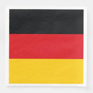 German Flag Paper Dinner Napkin