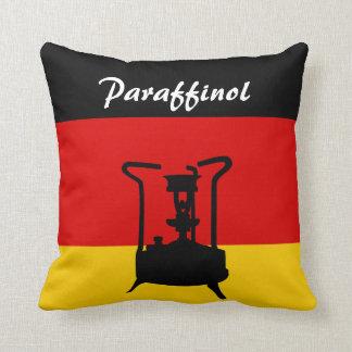 German Flag | Paraffinol Pressure stove Throw Pillow