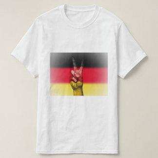 German Flag Peace Sign - Patriotic T-Shirt