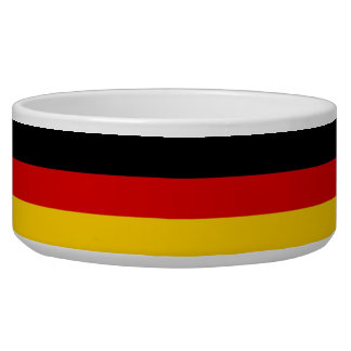 German Flag Pet Bowl