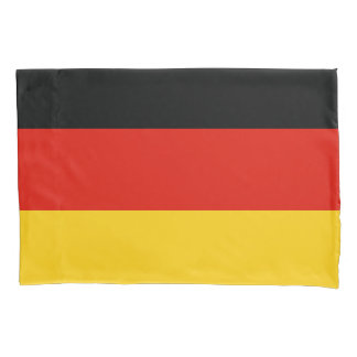 German flag pillowcase for Germany