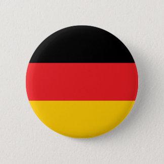 German flag pinback button