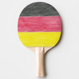 German Flag Ping Pong Paddle