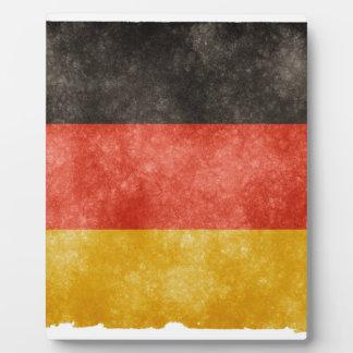 German Flag Plaque