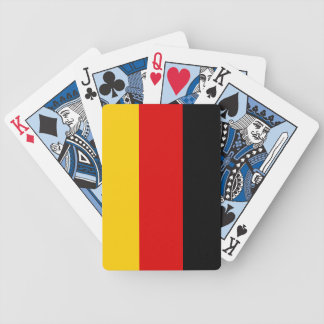 German Flag Playing Cards