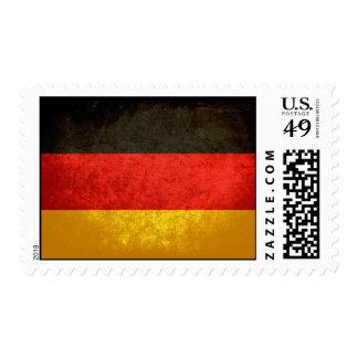 German Flag Stamp