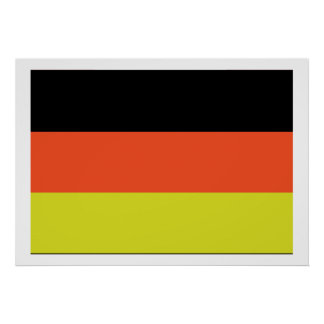 German Flag Print