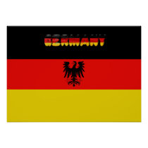 German flag poster