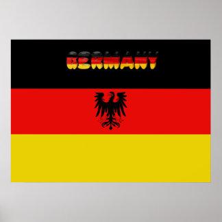 German flag poster