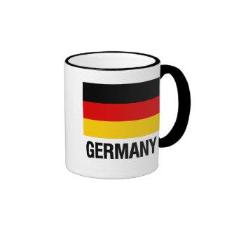 German Flag Ringer Mug