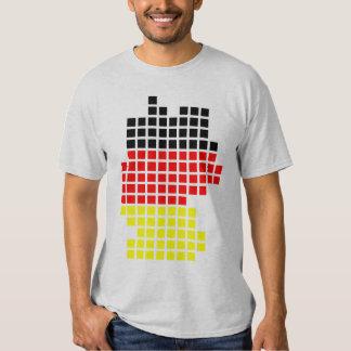 german flag shape for Germany Shirt