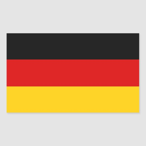 German Flag Sticker