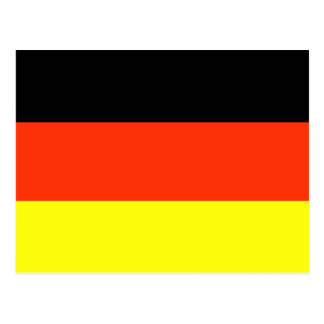 German Flag T-shirts and Gifts Postcard