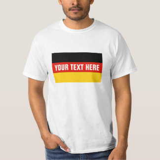 German flag t shirts | Custom Germany merchandise