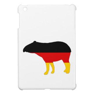 German Flag - Tapir iPad Mini Cover