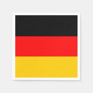 German Flag: Tricolor Oktoberfest Party Napkin