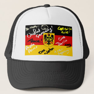 German Flag Trucker Hat