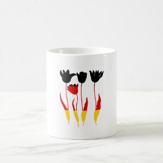 German Flag - Tuilps Coffee Mug