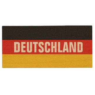 German flag USB pendrive flash drive   Germany Wood USB 2.0 Flash Drive