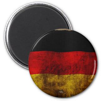 German Flag - Vintage 2 Inch Round Magnet