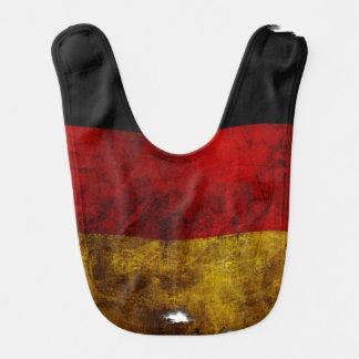 German Flag - Vintage Baby Bib