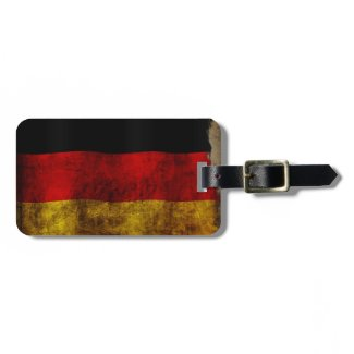 German Flag - Vintage Bag Tags