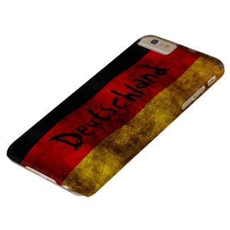 German Flag - Vintage Barely There iPhone 6 Plus Case