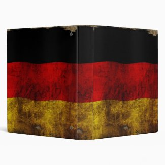 German Flag - Vintage