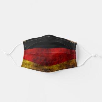 German Flag - Vintage Cloth Face Mask