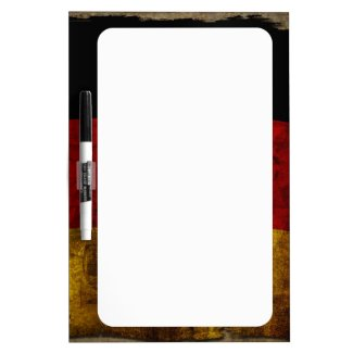 German Flag - Vintage Dry-Erase Board