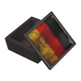 German Flag - Vintage Keepsake Box