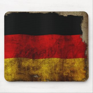 German Flag - Vintage Mousepad