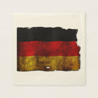 German Flag - Vintage Napkin