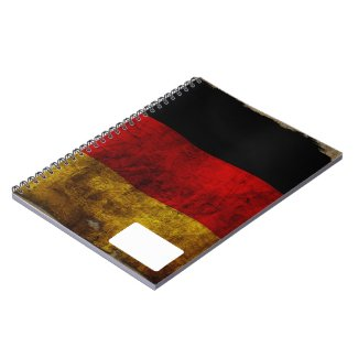 German Flag - Vintage Note Books