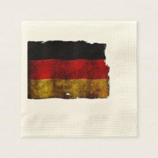 German Flag - Vintage Paper Napkin