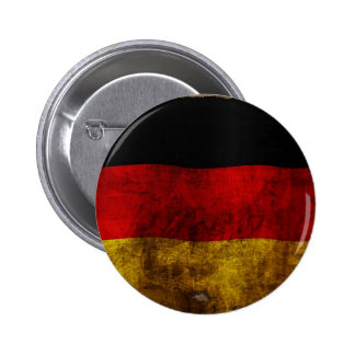 German Flag - Vintage Pinback Button