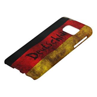 German Flag - Vintage Samsung Galaxy S7 Case