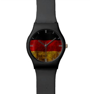 German Flag - Vintage Watch