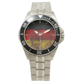 German flag - Vintage… Wrist Watch
