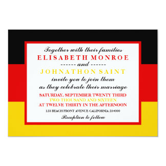 German Flag Gifts On Zazzle - Birthday invitation in germany