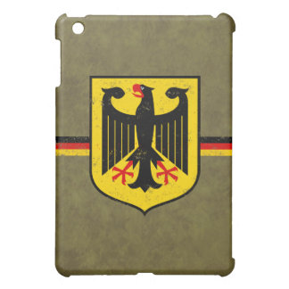 German Flag with Coat of Arms Case For The iPad Mini