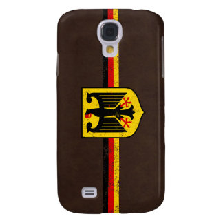 German Flag with Coat of Arms Galaxy S4 Cover