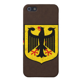 German Flag with Coat of Arms Cover For iPhone 5