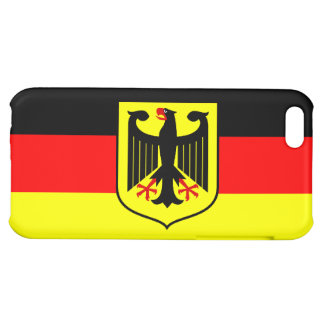 German Flag with Coat of Arms Case For iPhone 5C