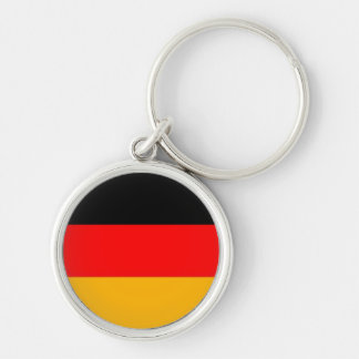 German flag(without eagle) premium keychain