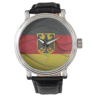 German Flag Wristwatch