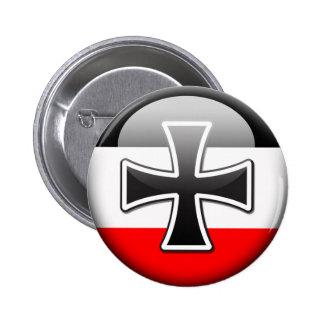 German Flag WWI 2 Inch Round Button