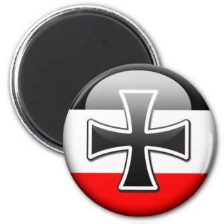 German Flag WWI 2 Inch Round Magnet