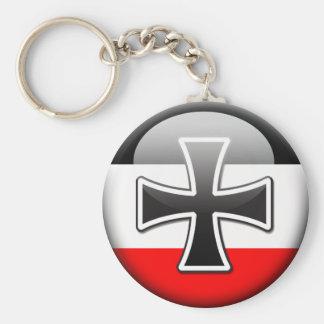 German Flag WWI Basic Round Button Keychain
