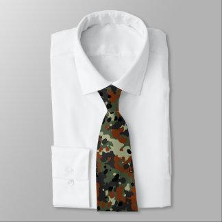 German Flecktarn Camo Neck Tie